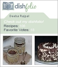 Visit Deeba Rajpal on dishfolio.com