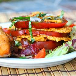 Heirloom Tomato Stacks/Parmesan