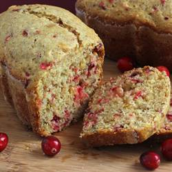 Cranberry Orange Mini Loaves with Flax