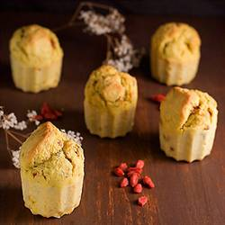 Rosemary Corn Muffins with Goji Berries