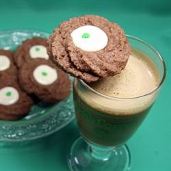 Chocolate Irish Whiskey Cookies