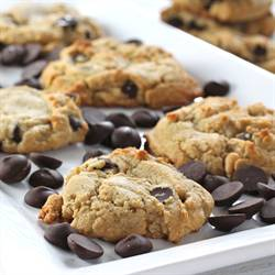 Brown Butter PB Chocolate Chip Cookies
