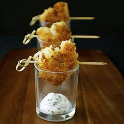 Panko Crusted Shrimp