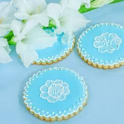 Brush Embroidered Sugar Cookies