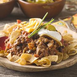Southwestern Chili-Corn Chip Pie