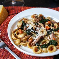 Orecchiette with Braised Short Ribs