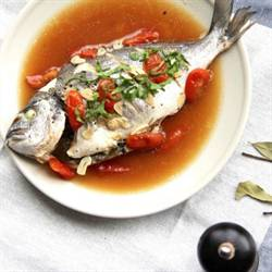Steamed Sea Bream
