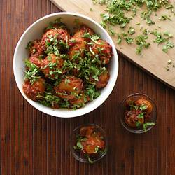 Tomato Tamarind Potatoes