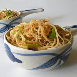 Sesame Chili Ginger Noodles