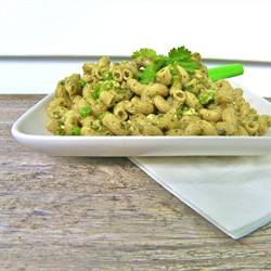 Cilantro & Avocado Pesto Pasta Salad