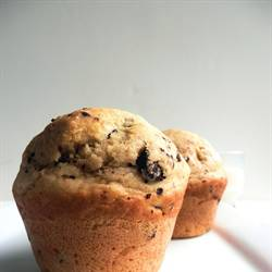 Olive Oil Muffins with Chocolate Chips