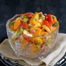 Sweet Potato, Apple & Chipotle Salad