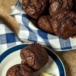 Chocolate Chocolate Chip Muffins (3)