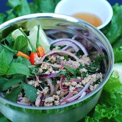 Pork Larb Gai – Thai Minced Pork Salad