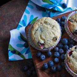 Double Blue Muffins