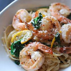 20-Minute Garlicky Shrimp Scampi w