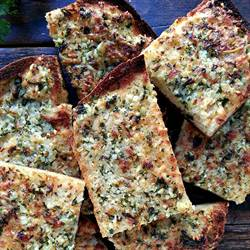 Gluten-free garlic bread