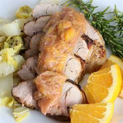Pork Tenderloin with Orange Compote