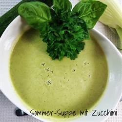 Summer Soup with Zucchini and Fennel