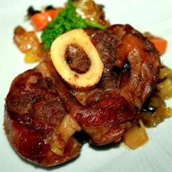 Osso Bucchi ~ Veal Shanks