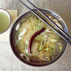 Miso Soup with Somen Noodles