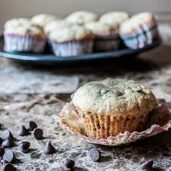 Banana Bread Chocolate Chip Muffins