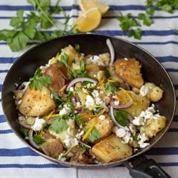 Greek Potato Hash