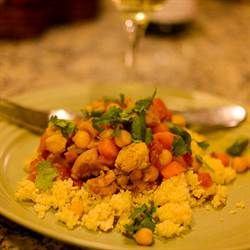 Moroccan Spiced Chicken and Couscous