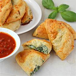 Spinach and Ricotta Stuffed Pockets