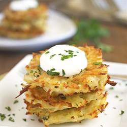Baked Potato Pancakes