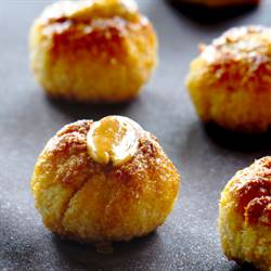 """Panellets"" pumpkin and coconut"