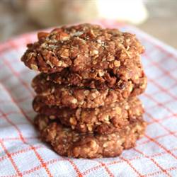 Nutty Chocolate Oat Cookies (1)