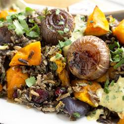 Butternut Squash and Wild Rice Salad (1)