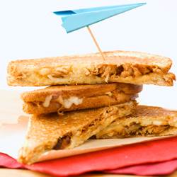 Chicken Grilled Cheese Sandwiches