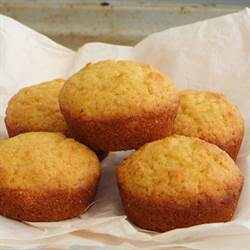southern honey corn bread muffin