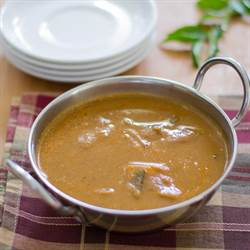 South Indian Chettinad fish curry