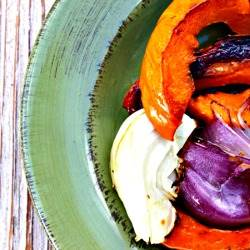 Roasted Red Kuri Squash