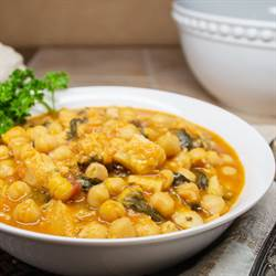 Potaje ~ Spanish Chickpea Stew