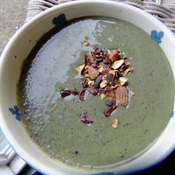 Kale and Blueberry Soup