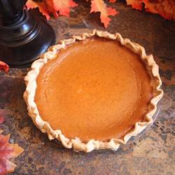 Pumpkin Pie with Jim Beam Bourbon Vanilla (1)