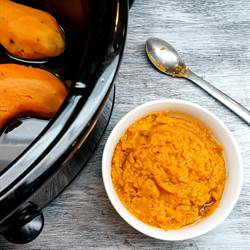 How To Slow Cook Sweet Potatoes
