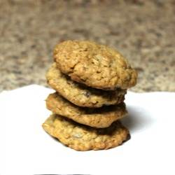 Oatmeal Coconut Cherry Chip Nut Cookies