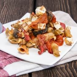 Baked Pasta with Roasted Vegetables