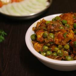 Mutter Paneer curry (1)