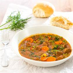 BEEF AND PEA STEW