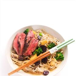Wasabi Soba Noodles with Beef