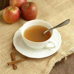 Hot Apple Cider - Bread & With It