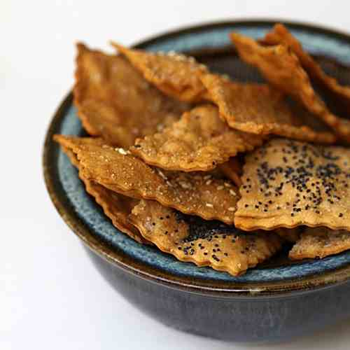 Ottolenghi Olive Oil Crackers