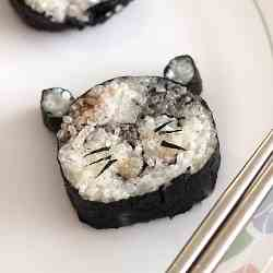 Kitty cat sushi