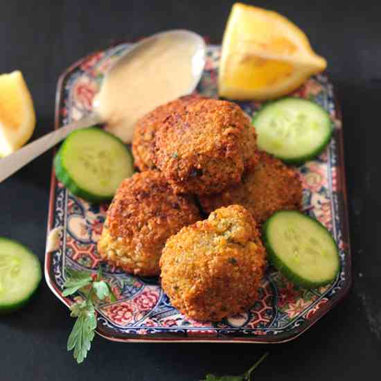 How To Make Delicious - Crispy Falafel